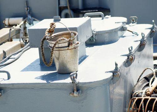 bucket metal water bucket