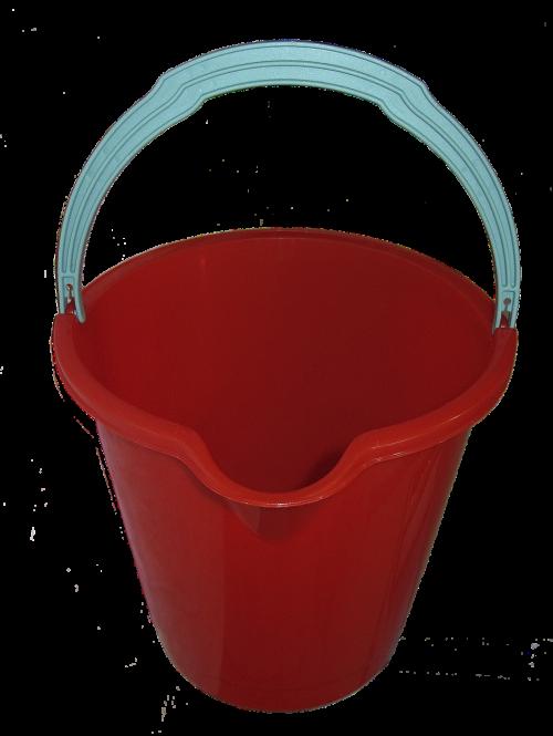 bucket vessel plastic bucket