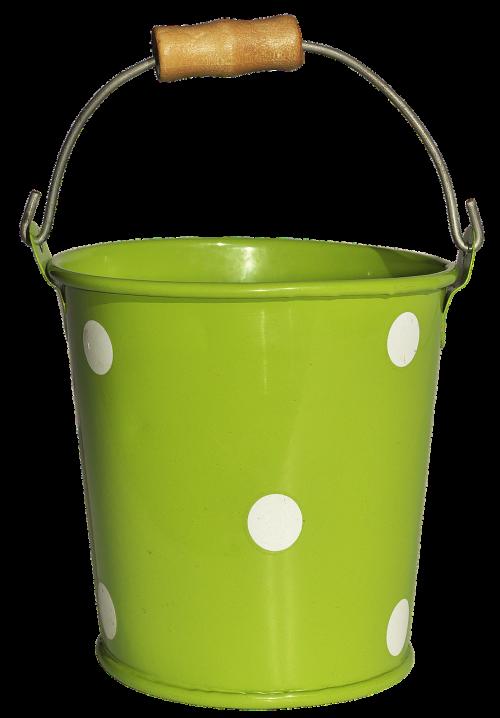 bucket vessel metal bucket