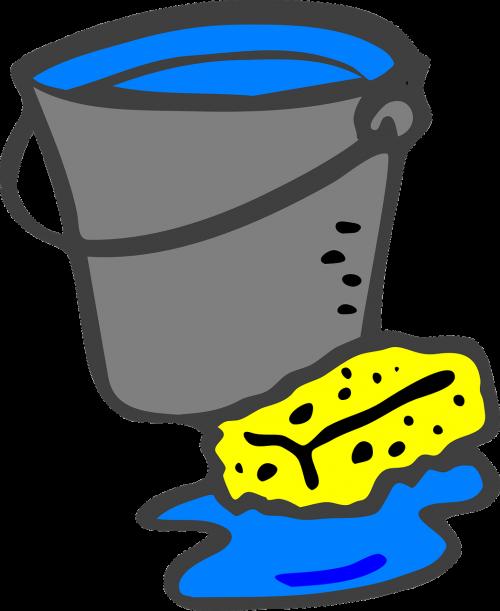 bucket sponge pail