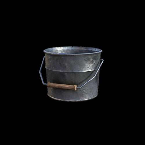 bucket  handle  wooden