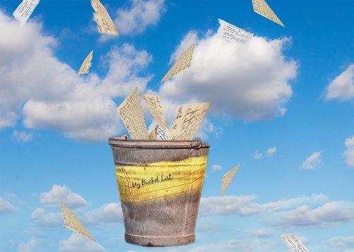 bucket list  bucket  dream