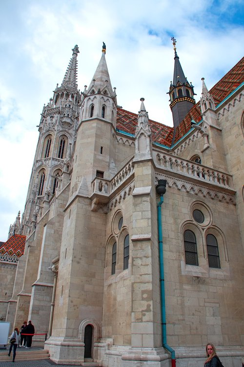buda castle  hungarian  building