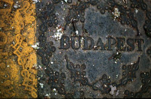 budapest drain cover manhole