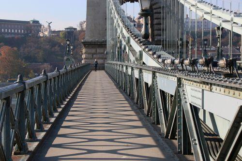 budapest chain bridge day punch