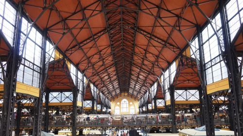 budapest market hall long hall