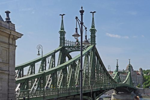 budapest liberty bridge danube bridge