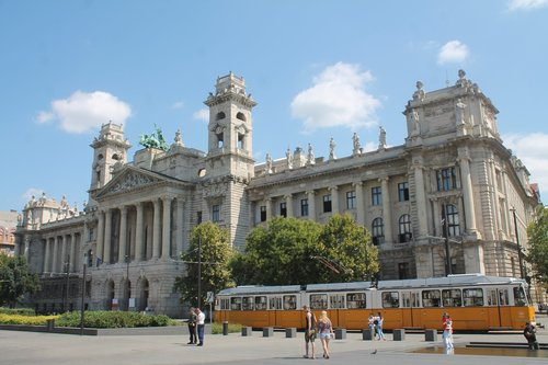 budapest  tram  hungary