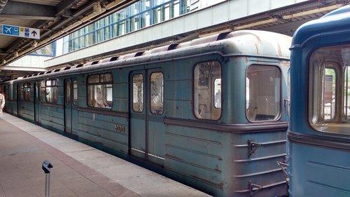 budapest  metro  old