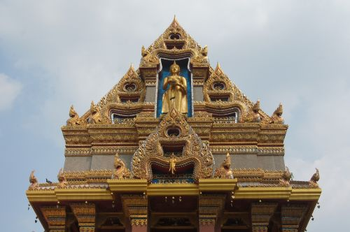 buddha temple roof