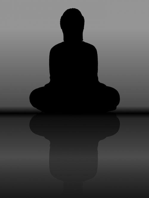 buda, meditacija, ramus, poilsis, kontempliacija, taika, ramybė, ramybė, ramybė, tylus, tamsumas, tylėjimas, religija, apšviestas, buda