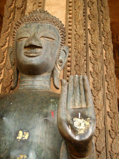 buddha laos indochina