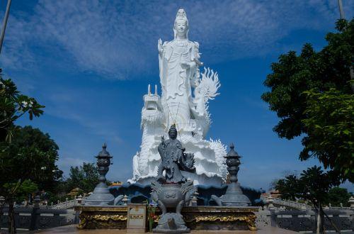 buddha goddess statue