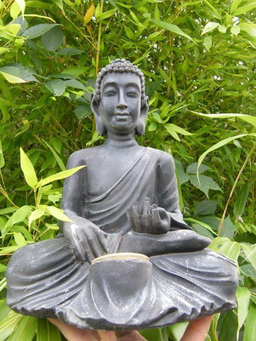 buddha bamboo sit