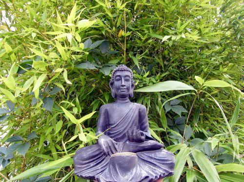 buddha bamboo lamp