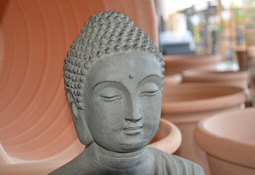 buddha head meditation