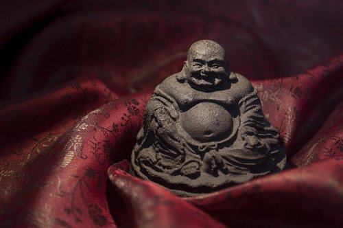 buddha  religion  statuette