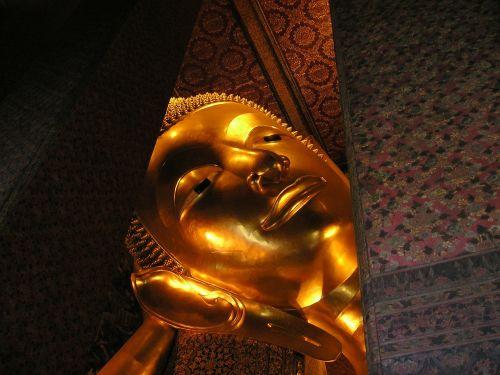 buddha head gold