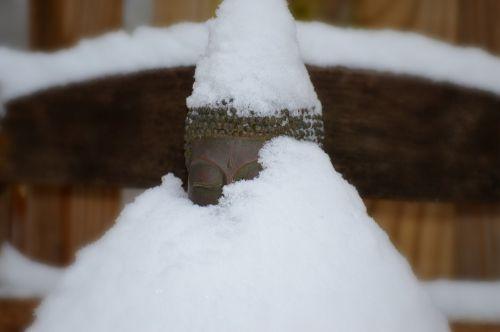 buda,sniegas,žiema,šventas,dvasinis,šventas,budistinis,budizmas,malda,snieguotas budas