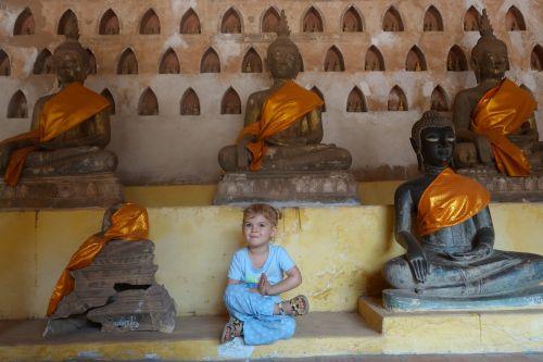buddha wat child
