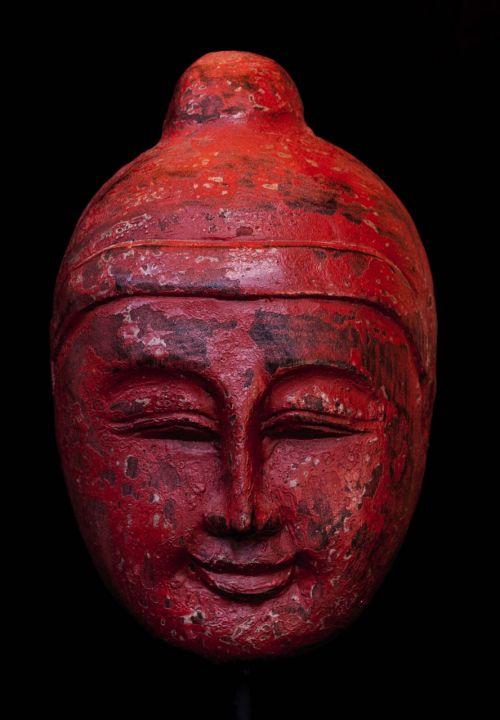 buddhism buddha mask