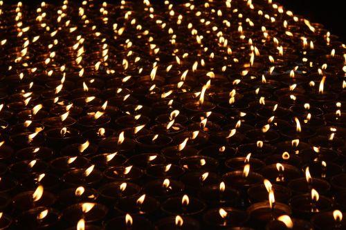 buddhism light oil