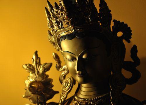 buddhism tara statue