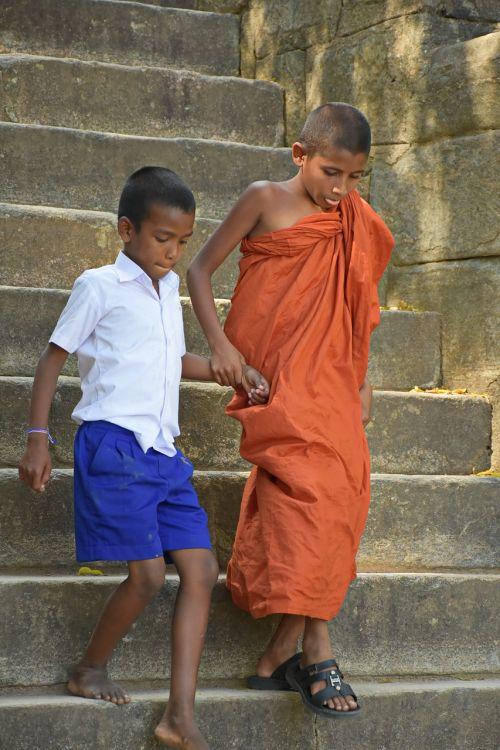 buddhist monk kid