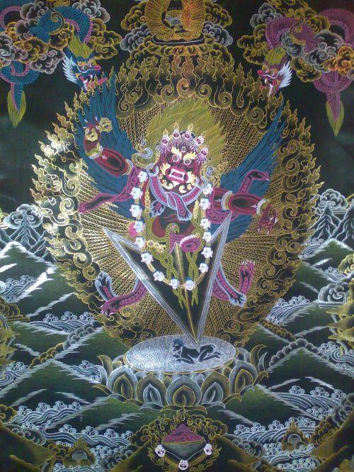 buddhist deity tibet meditation deity