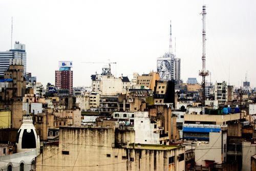 Buenos Airės,miestas,pastatai
