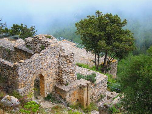 bufavento castle cyprus