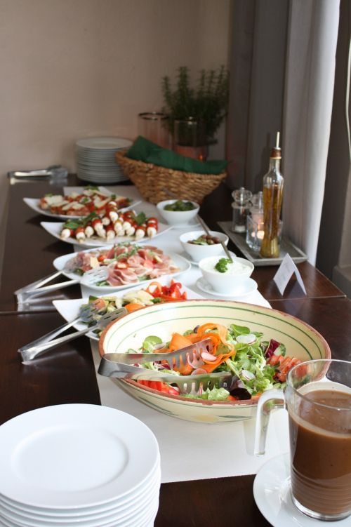 buffet salad cold buffet