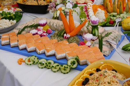 buffet freshness decoration