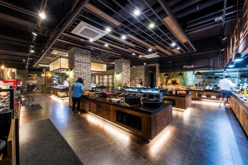 buffet salad bar restaurant