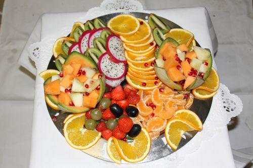 buffet fruits fruit