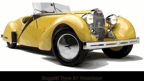 bugatti cars roadster
