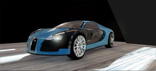 bugatti veyron sports car