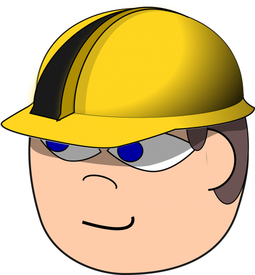builder comic characters construction