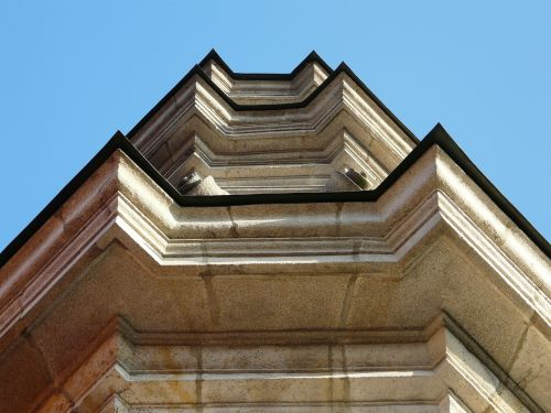 building architecture upward