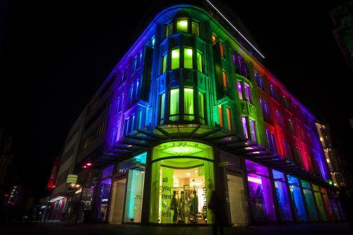 building led illuminated