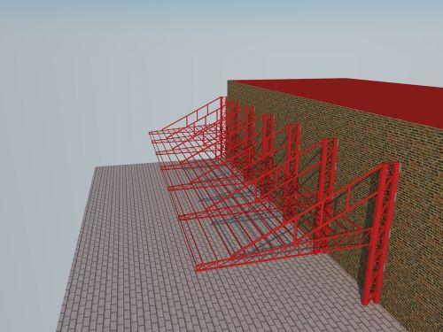 building porch steel