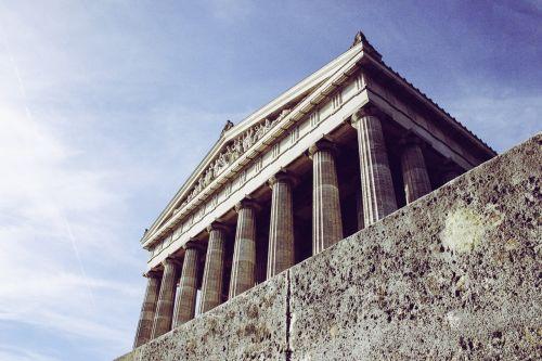 building architecture columnar