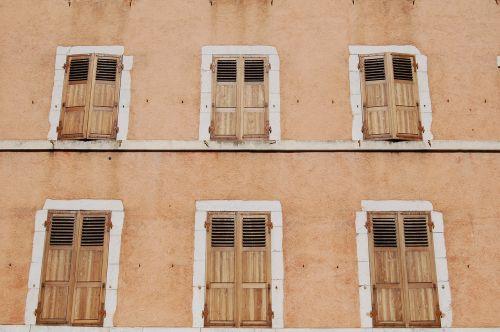 building facade rustic