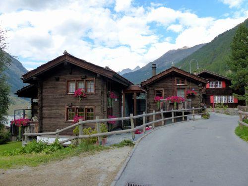 building alpine zermatt