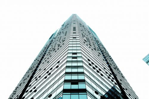 building tall buildings triangle