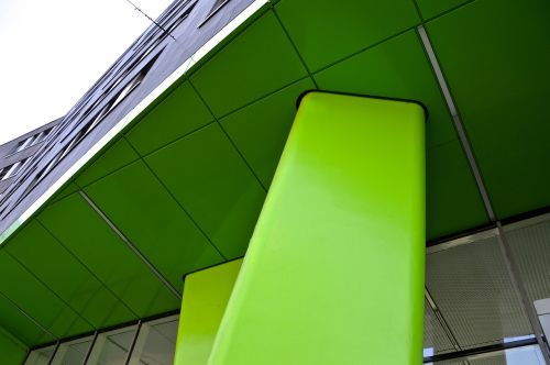 building facade pillar