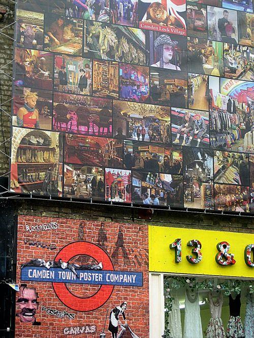 building facade posters