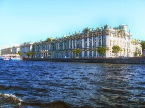 building winter palace river
