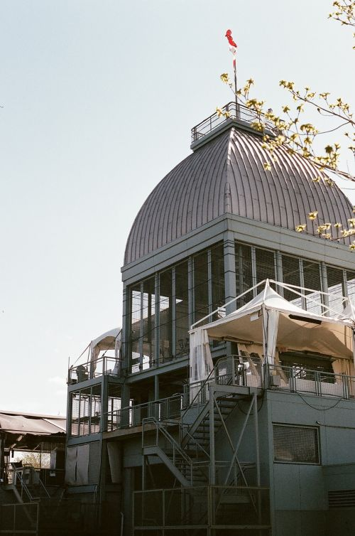building dome steps