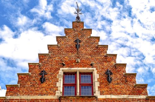 building facade brick